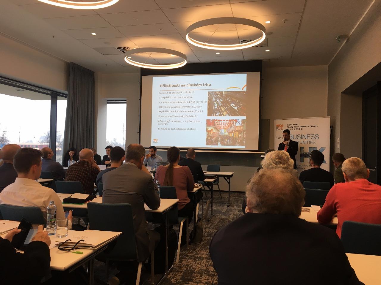 HKTDC seminář Brno